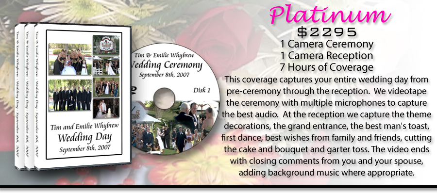 Platinum Wedding Video Package!