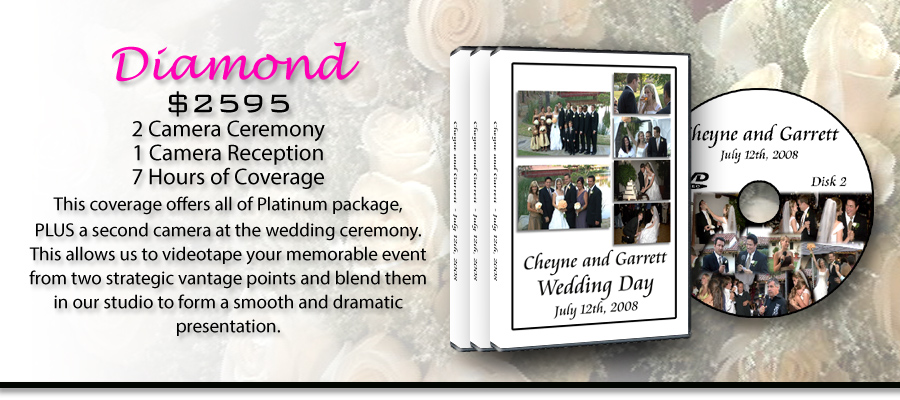 Diamond Wedding Video Package!