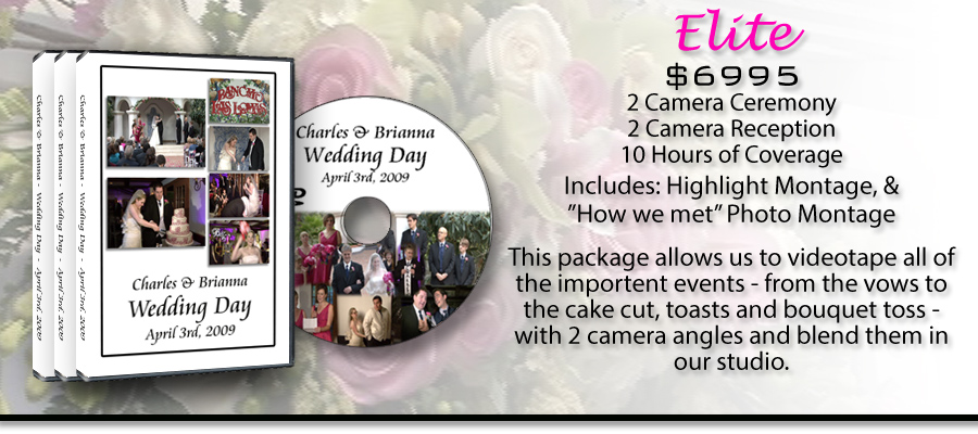 Elite Wedding Video Package!